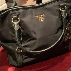 Prada black Purse , women handbag